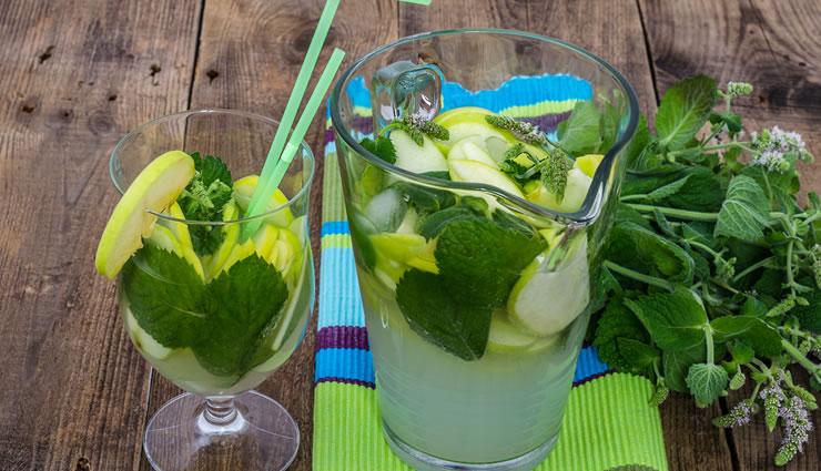 Detox Spiced Apple Lemonade