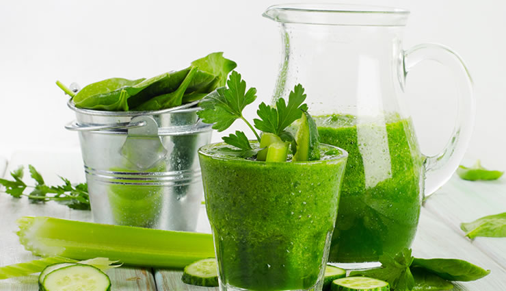 Dr. Oz Cleansing Pineapple Kale Juice