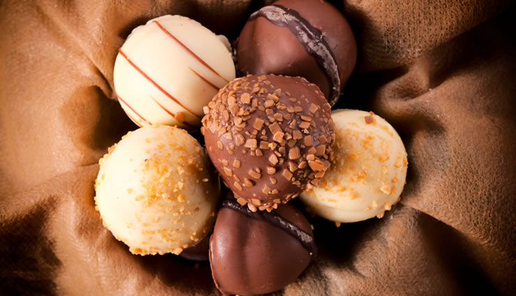 Peggy K's Chocolate Cherry Truffles