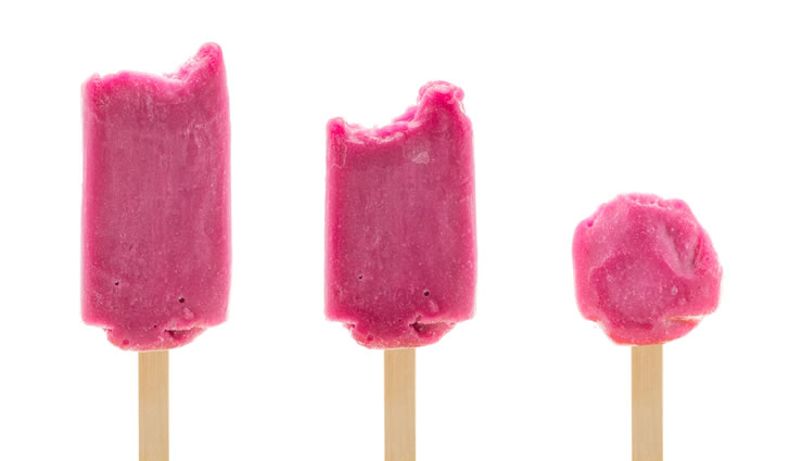 Peggy K's Frozen Berry Pops