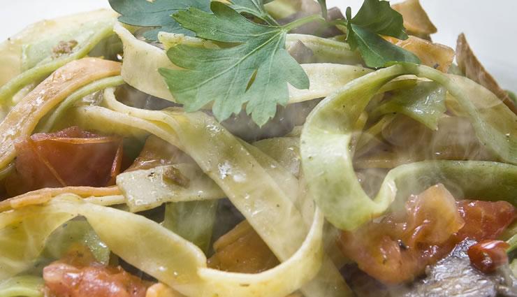 Peggy K's Zucchini Linguini