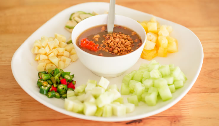 Vegan Thai Almond Sauce