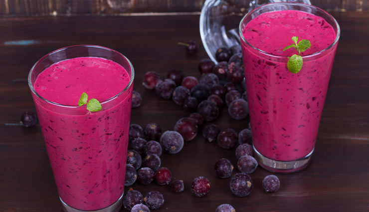 tasty blueberry energy boost smoothie recipe by daphne oz