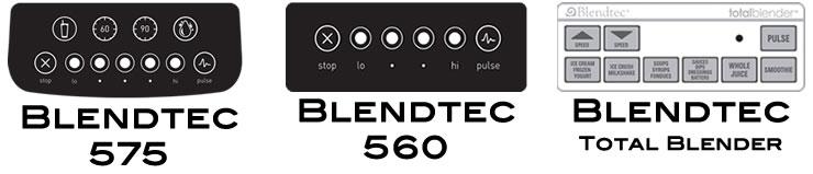 Blendtec Classic Series Controls
