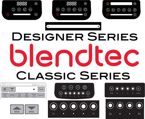 blendtec blenders u2013 manual speed features and differences - Blendtec Blender