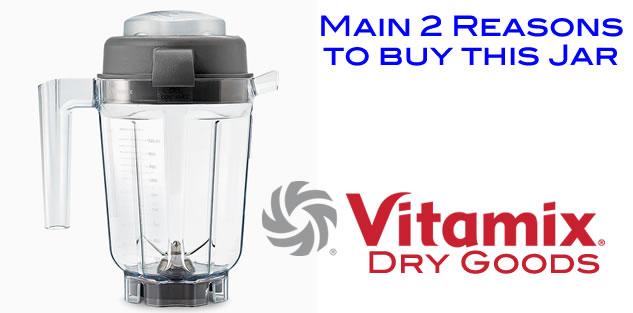 Vitamix Dry pitcher