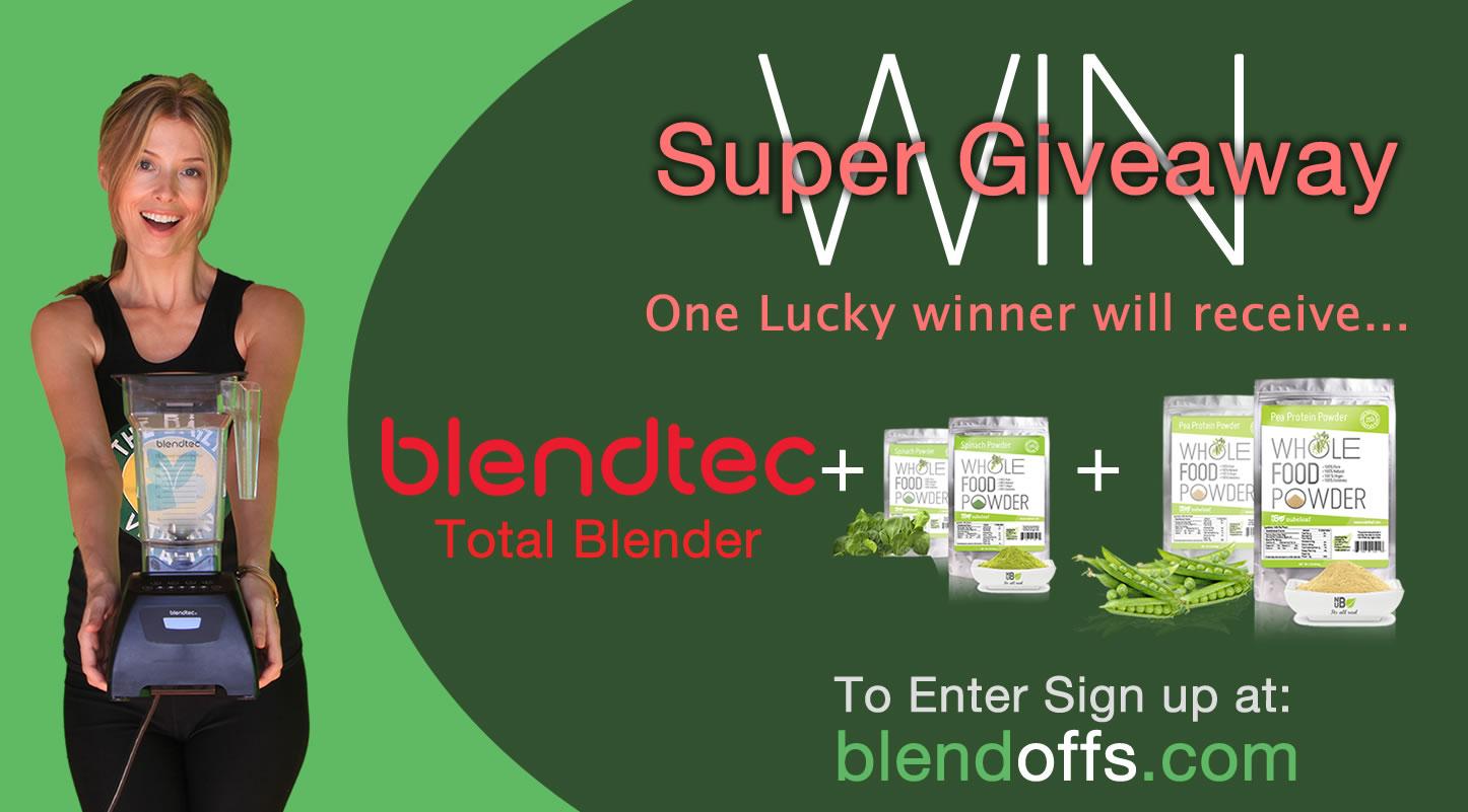 Blendtech blender giveaway