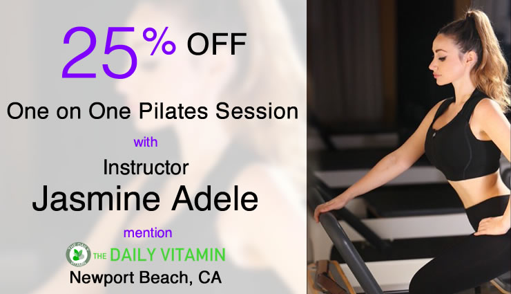 Pilates coupon discount