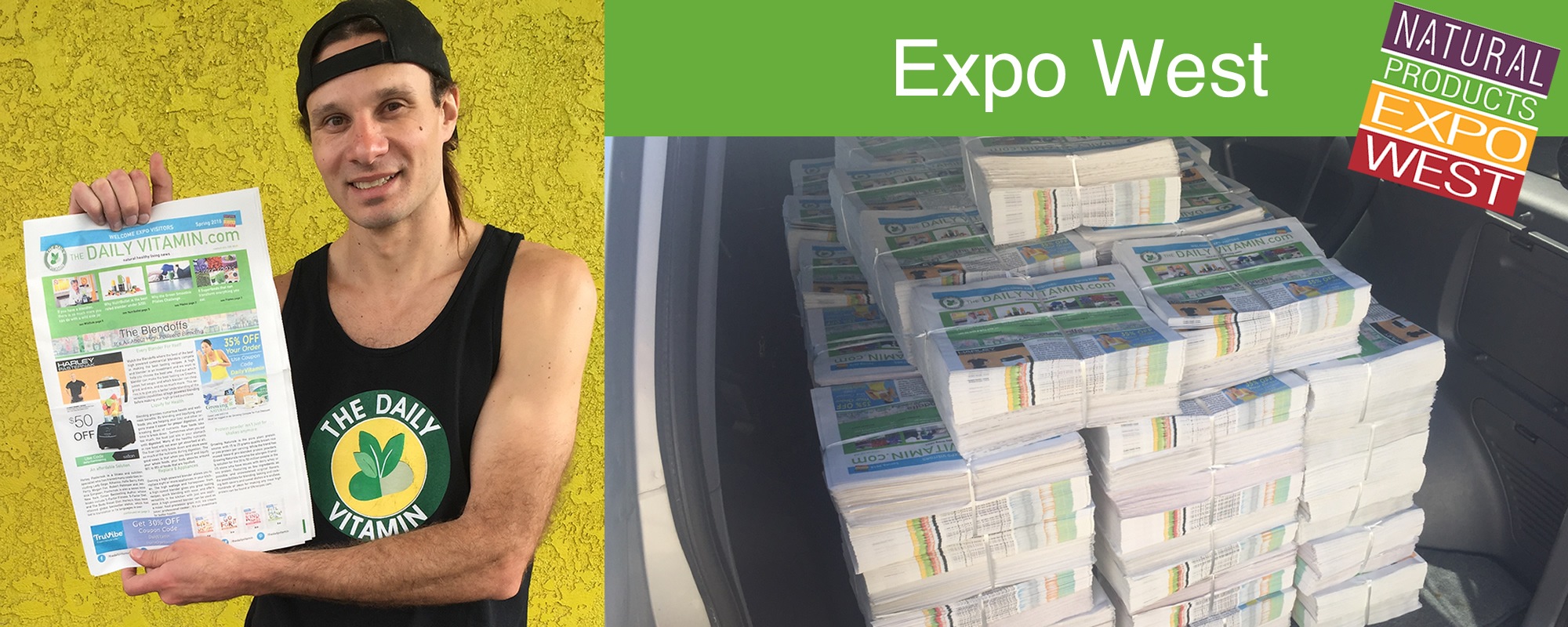 Natural Products Expo West - The Daily Vitamin Newspaper