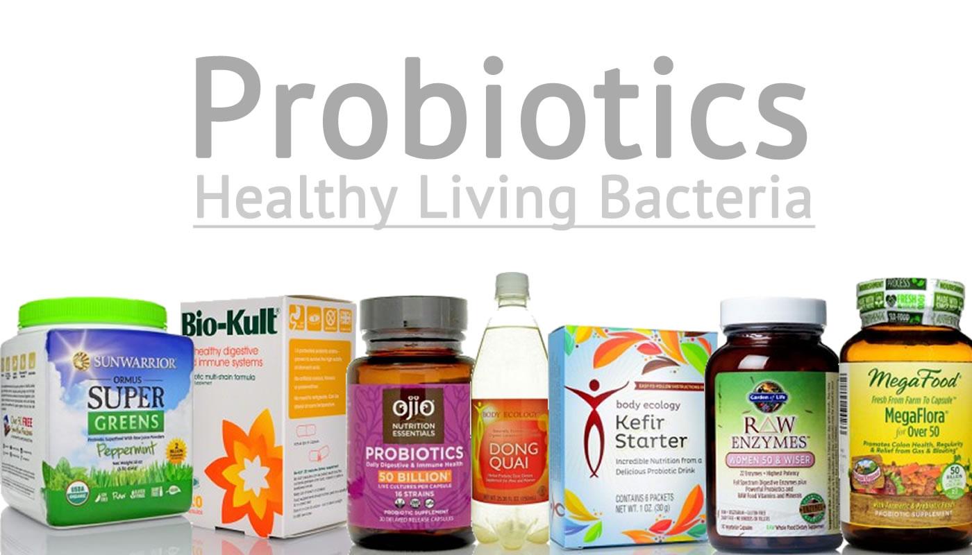Probiotics - Healthy Living Bacteria