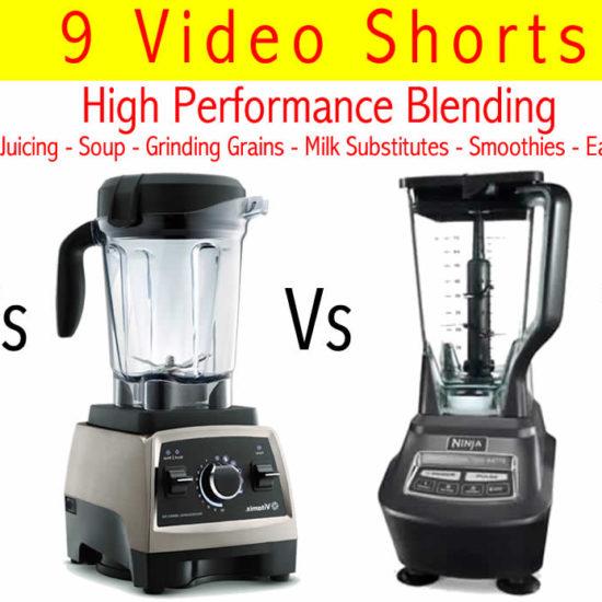 Learn High Power Blending! Blendtec Vs Vitamix Vs Nutribullet Vs Ninja
