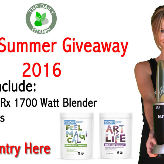 Super Summer Giveaway Contest 2016 – Win a NutriBullet Rx